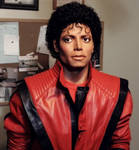 1/1 MJ Thriller statue lifesize WIP pic 11-10-13