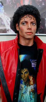 Michael wearing a Captain Eo shirt!