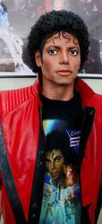 Michael wearing a Captain Eo shirt! by godaiking