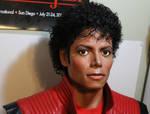 Michael Jackson 1/1 lifesize Thriller era bust