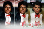 Billie Jean 1/1 bust comparison