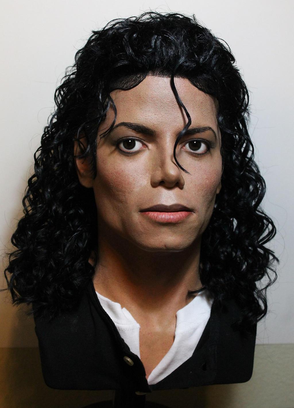 Michael Jackson Lifesize Bad Era Moonwalker Bust By Godaiking On Deviantart