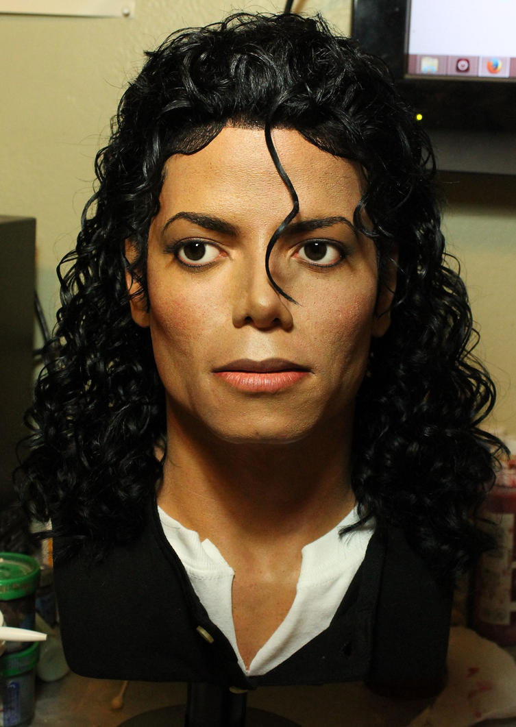 Michael Jackson lifesize Bad era last pic by godaiking