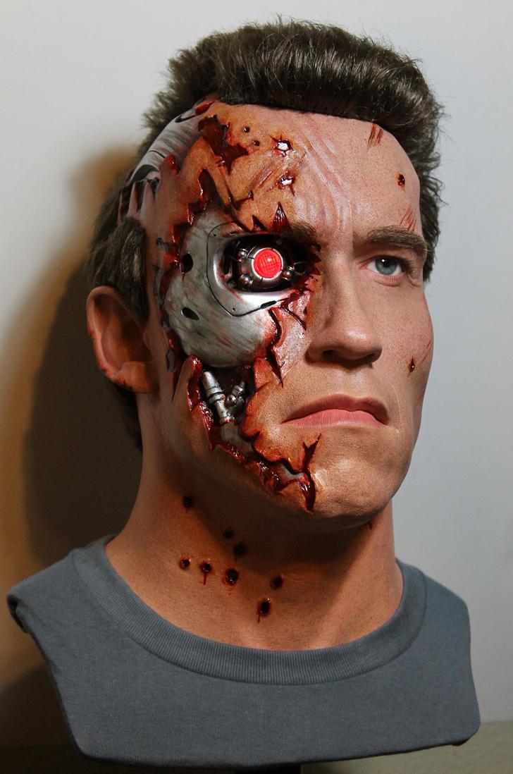 NEW T2 Terminator BD lifesize bust! pic2 by godaiking