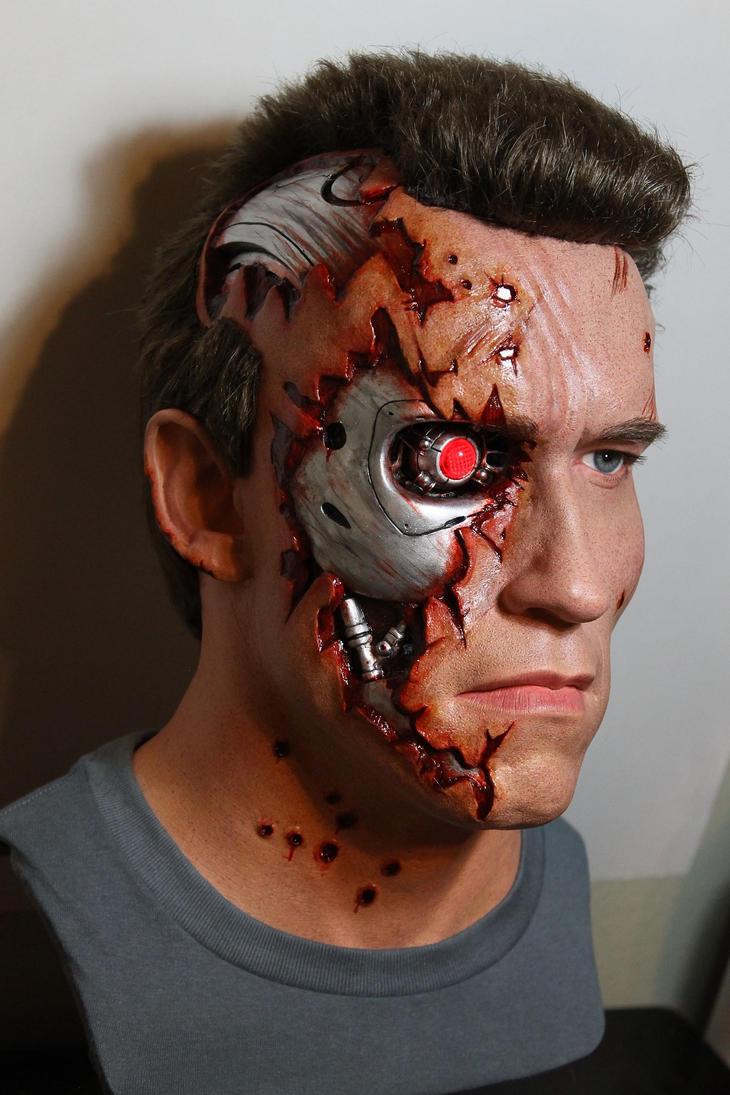 NEW T2 Terminator BD lifesize bust! pic3 by godaiking