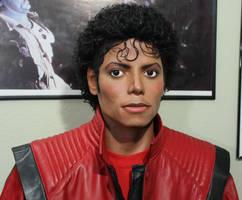 Michael Jackson lifesize Thriller statue