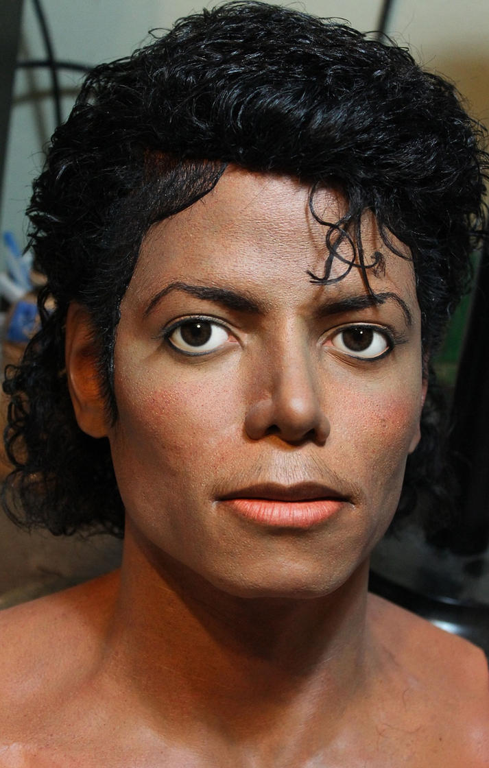 Billie Jean lifesize bust MJ by godaiking
