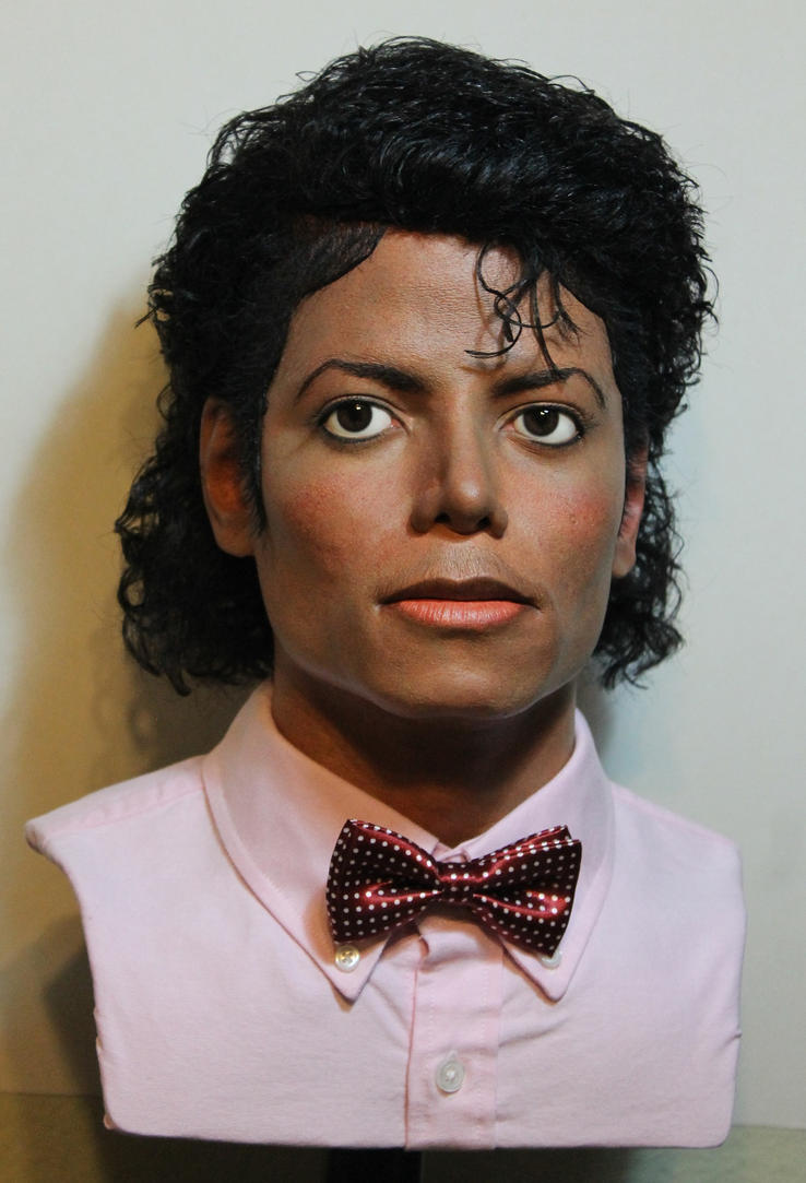Billie Jean lifesize bust MJ on Ebay! by godaiking