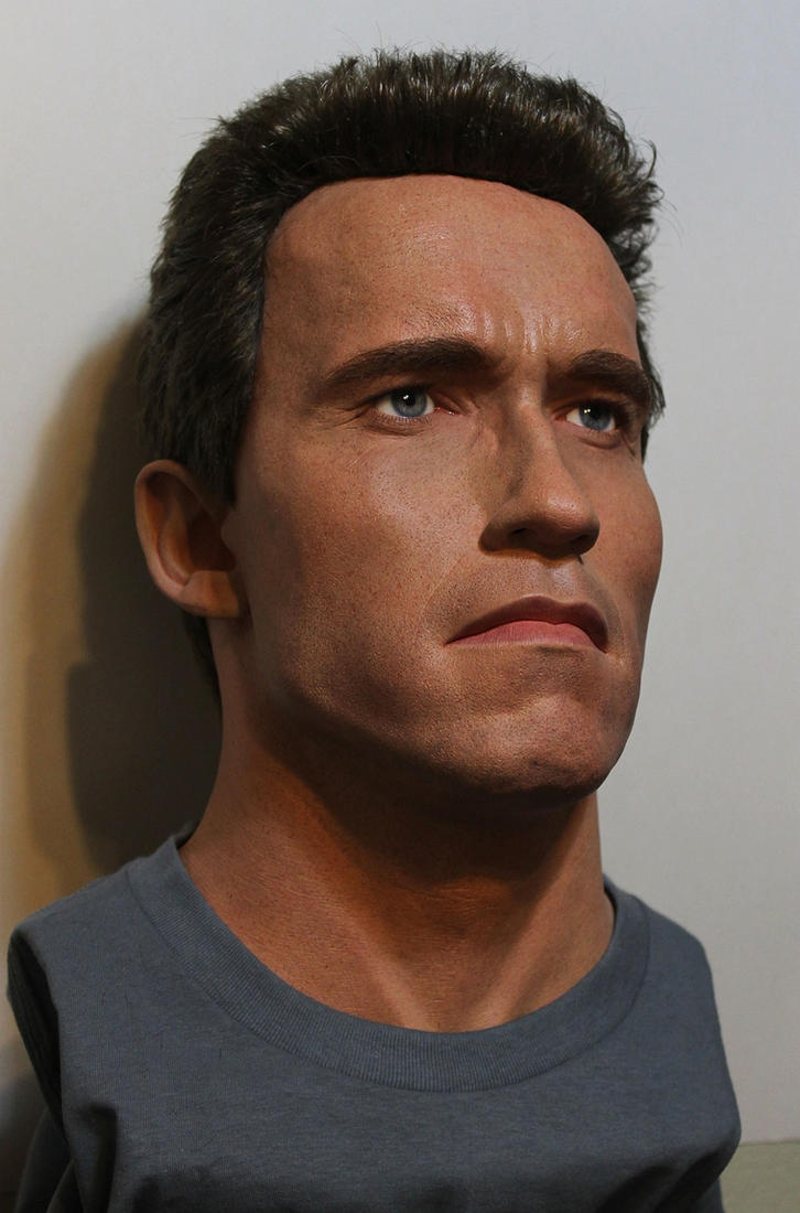 Terminator 2 1991 Clean bust lifesize by godaiking
