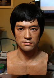 Bruce Lee lifesize bust