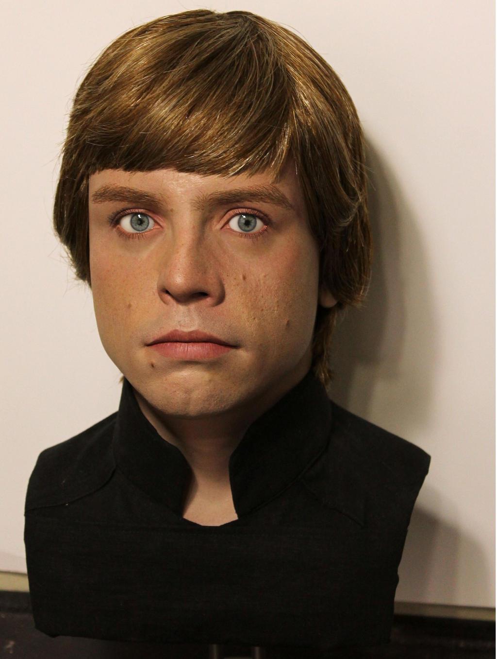 Lifesize Luke Skywalker bust