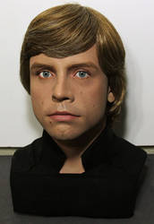 Lifesize Luke skywalker bust