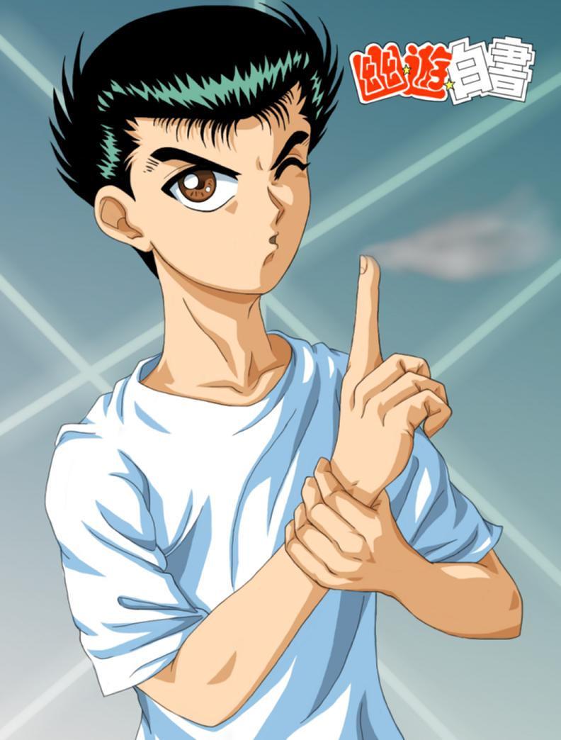 Yusuke Urameshi YU YU HAKUSHO by godaiking