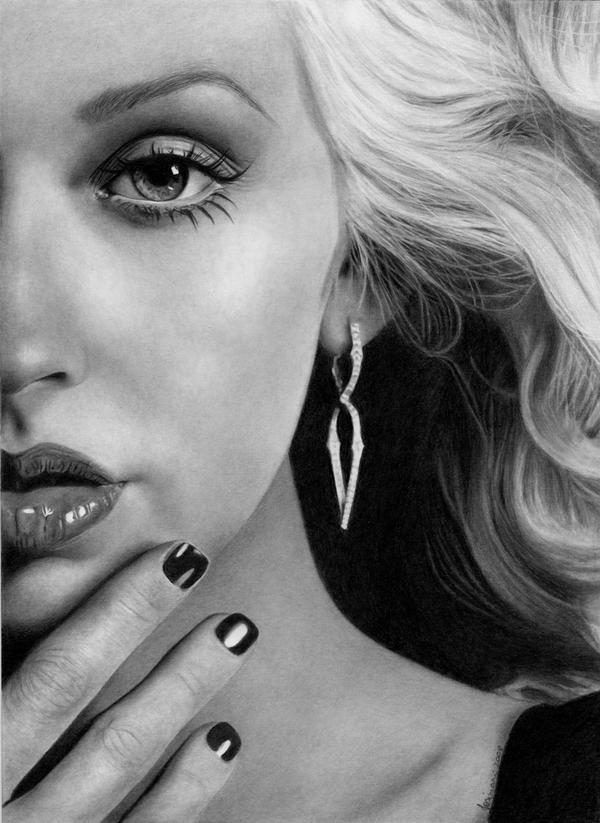 Half of you_Christina Aguilera by Esteljf