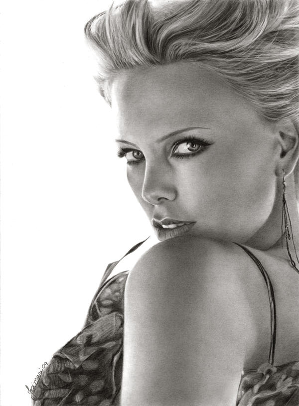 Charlize Theron by Esteljf