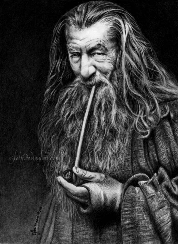 Gandalf, The Grey by Esteljf