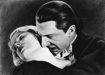 Bela Lugosi by Esteljf