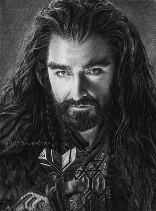 Thorin Oakenshield by Esteljf