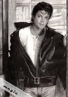 Michael Jackson 80s by llvllagic