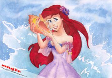 Ariel by llvllagic