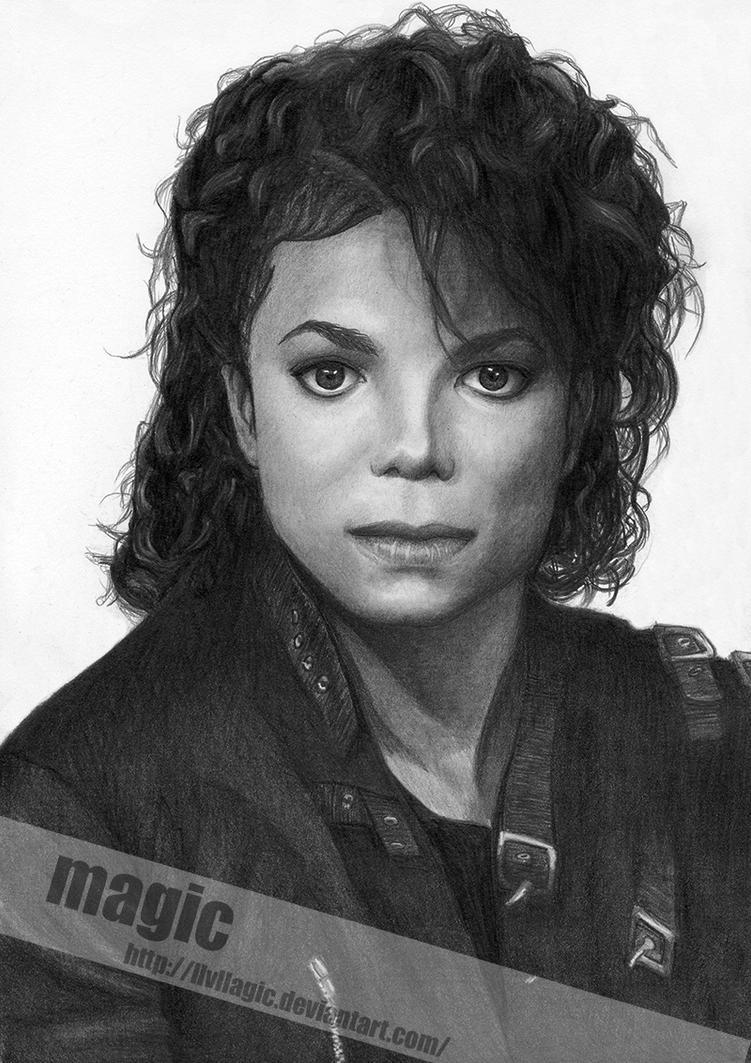 Michael Jackson BAD by llvllagic