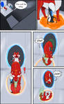 COMIC COMMISSION: Accidents with Portals pg1