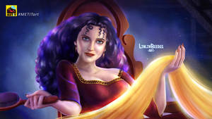 Eva Green as Mother Gothel - Tangled (2010) by linlinbeebee