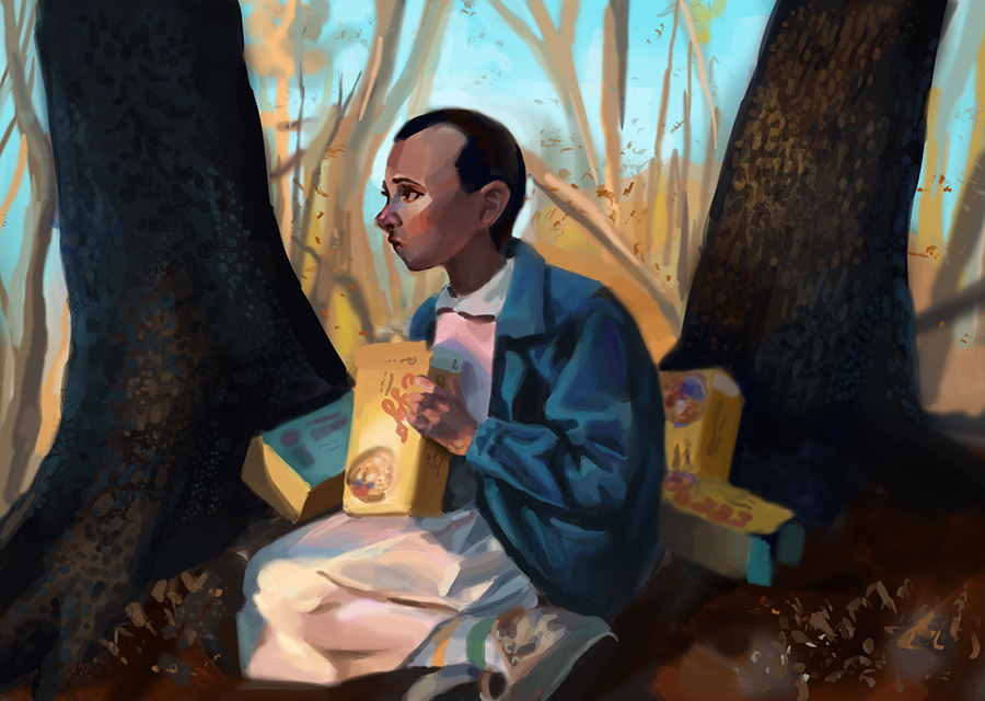 Eggos in the forest by caelstyx