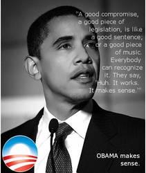 Obama-- he makes sense by ViciousHyperbolizer