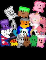 Friends main Ocs by xXShinyLeafXx