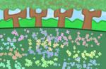 flower forest by xXShinyLeafXx