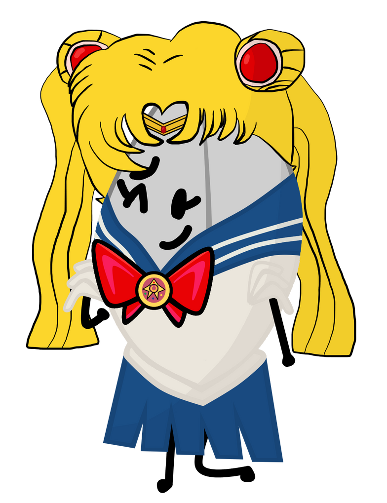 Shinyleaf dressed up as Sailor Moon by xXShinyLeafXx