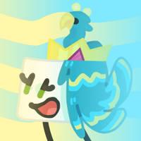 Peacock Cake icon by xXShinyLeafXx