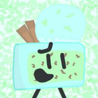Mint Chocolate Cake icon by xXShinyLeafXx