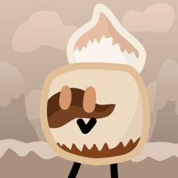 Coffee Latte Cake icon by xXShinyLeafXx
