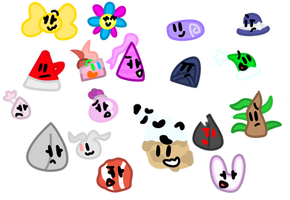 Random Faces by xXShinyLeafXx