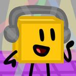 Golden Cube - Commission by xXShinyLeafXx