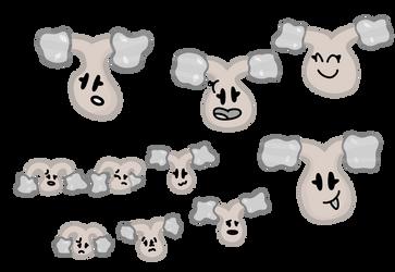 Shiny Sapling Doodles by xXShinyLeafXx