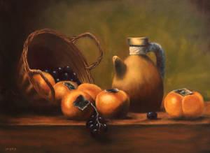 Jar Basket Fruits