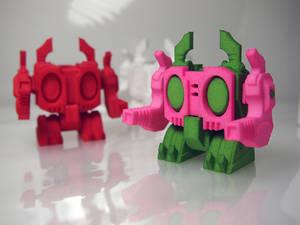 Original 3D printing robot KWAGGA