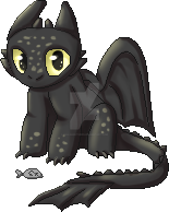 Toothless Pixel by Tailsandtunes