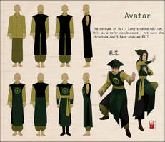 The costume of Daili by iyearh