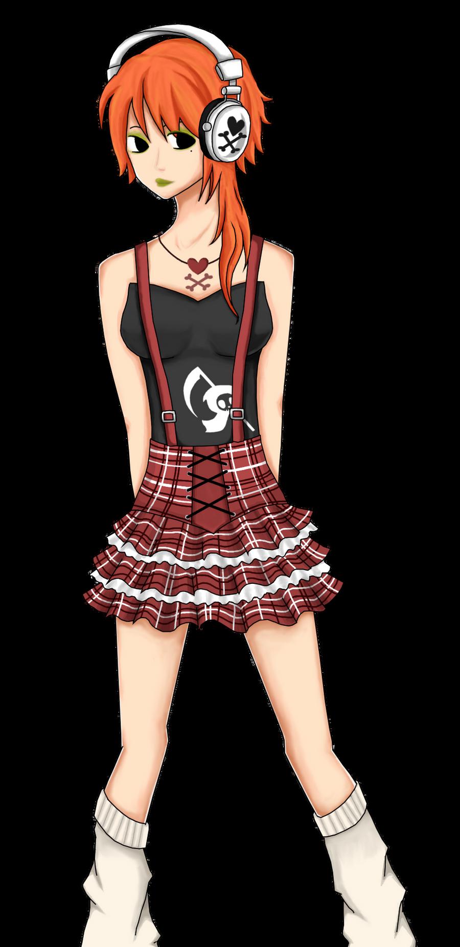 TokiDoki Girl by Spork-a-licious