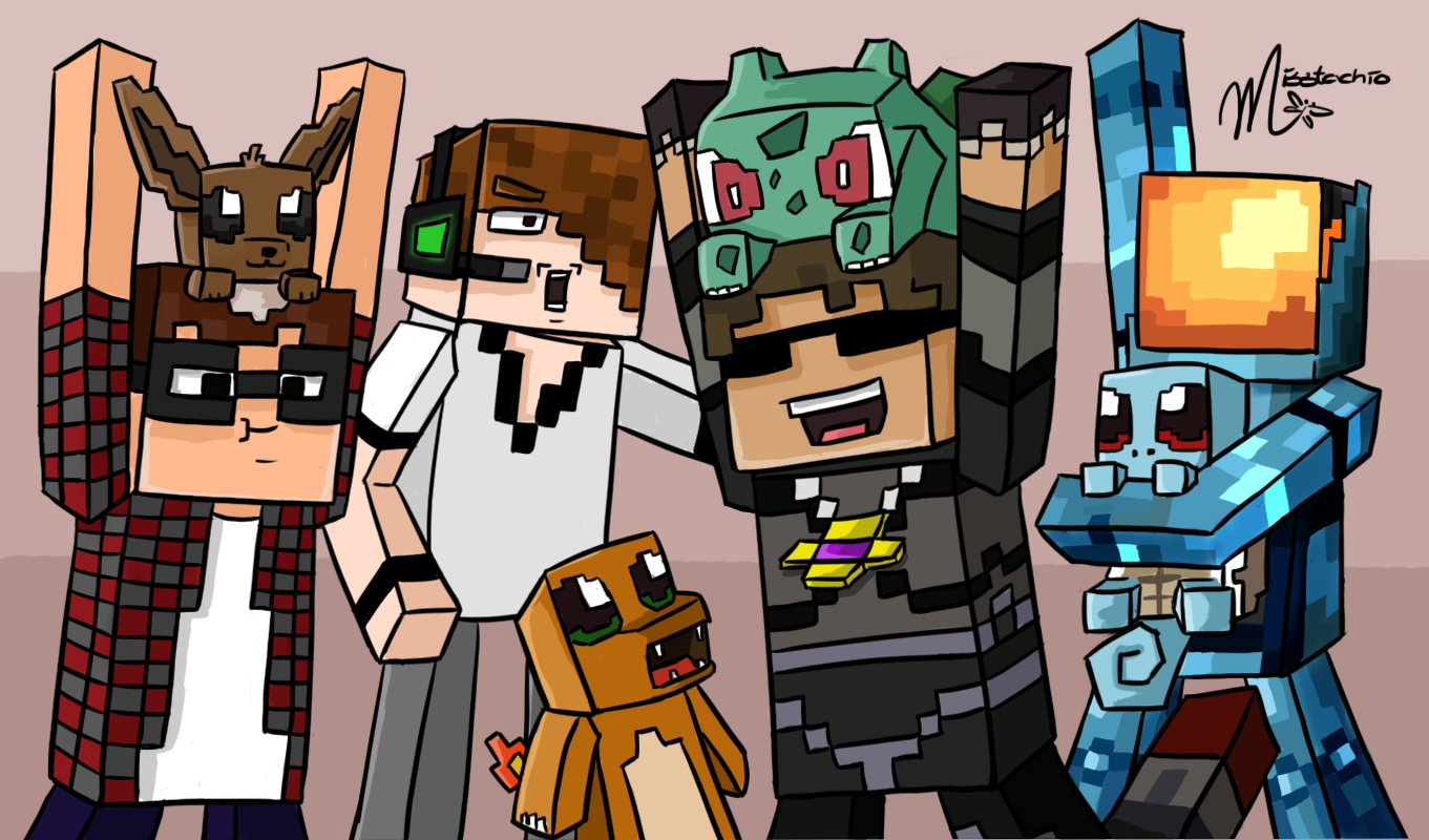 skydoesminecraft and deadlox and minecraftuniverse in real
