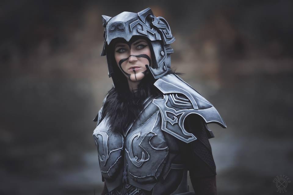 Nordic Carved Armor (Skyrim)_2 by MargaretCosplayArt