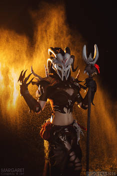 Necromancer cosplay from Guild Wars 2 by Margaret