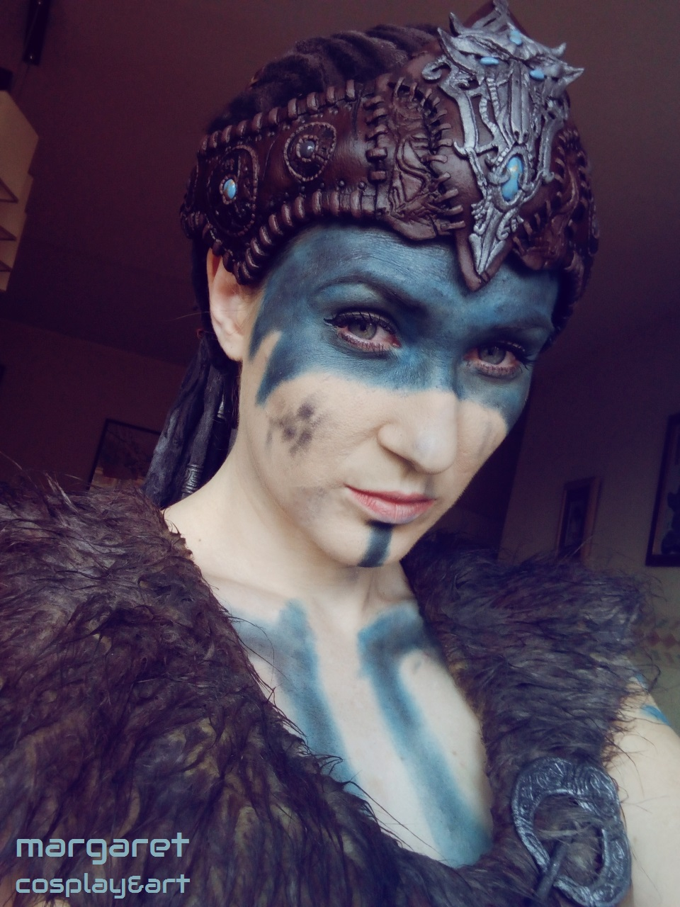 Senua from Hellblade by Margaret Cosplay