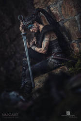 Senua from Hellblade by Margaret Cosplay by MargaretCosplayArt