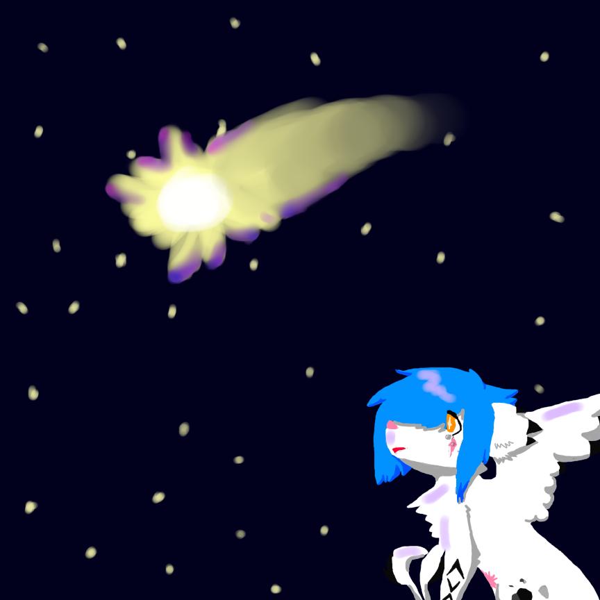 Starry night by Fur3ver