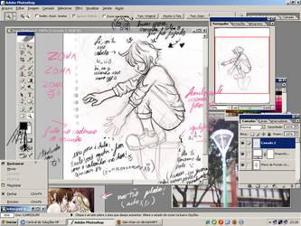 caos desktop XD by clari-chan